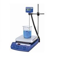 加热磁力搅拌器 10L 50-500℃ 玻璃陶瓷|C-MAG HS7套装|Ika/艾卡